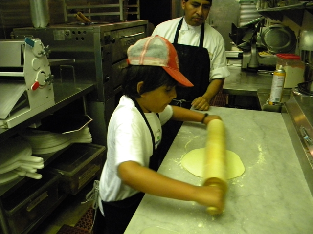 young pizzaiolo